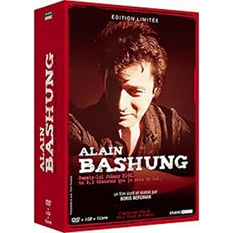 Alain Bashung - Remets-lui Johnny Kidd... Ou 2. 3 Chansons Que Je Sais De Lui... - Dvd + Cd + Livre