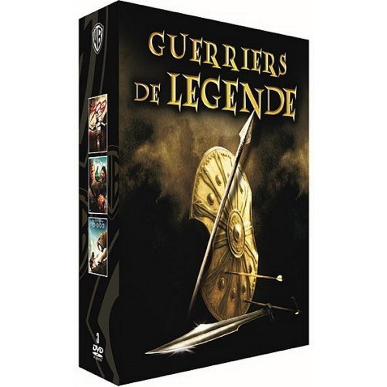 Coffret Guerriers De Legende - 300 + 10 000 + Troie