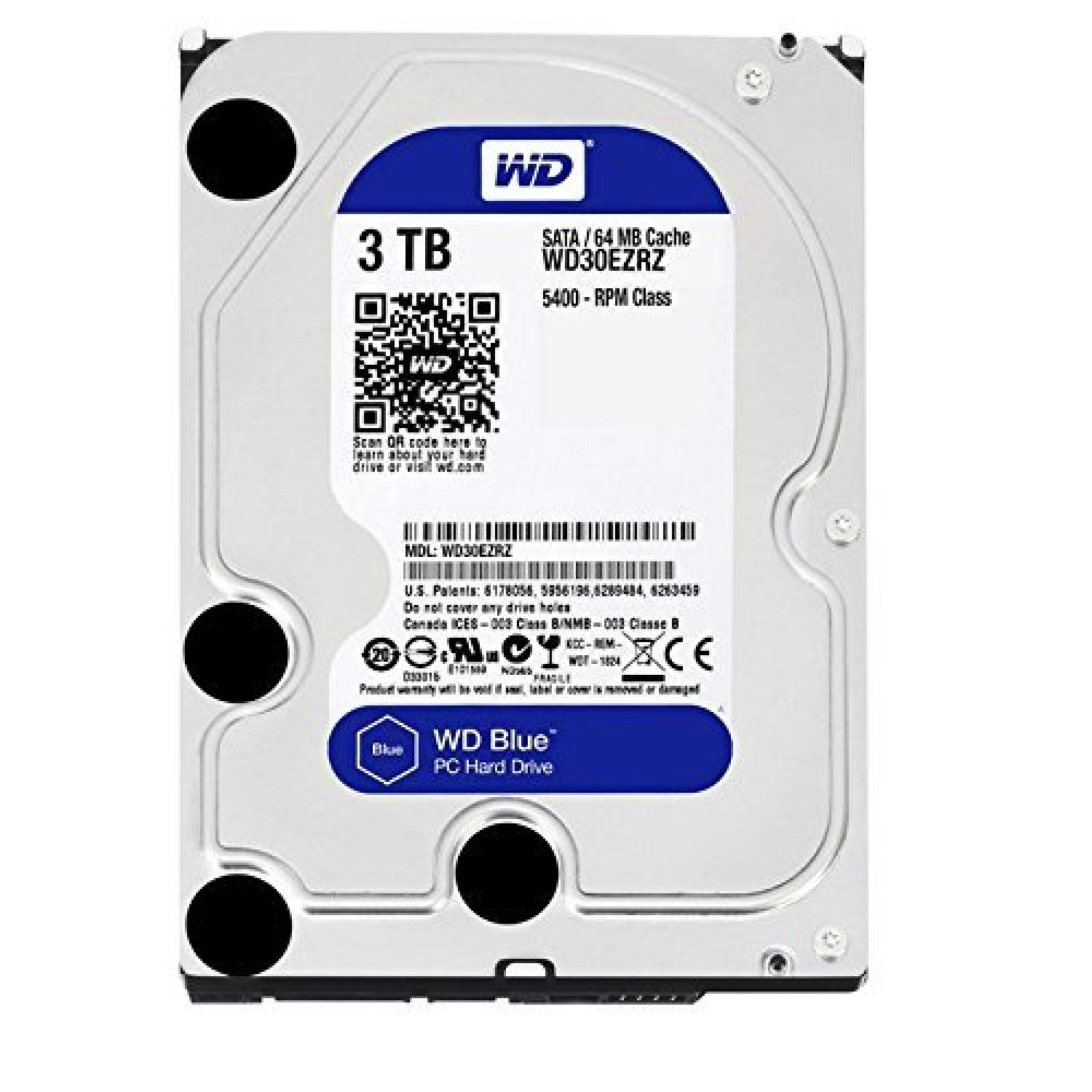 "Disque Dur Interne 3,5"" 3 To Sata Iii"