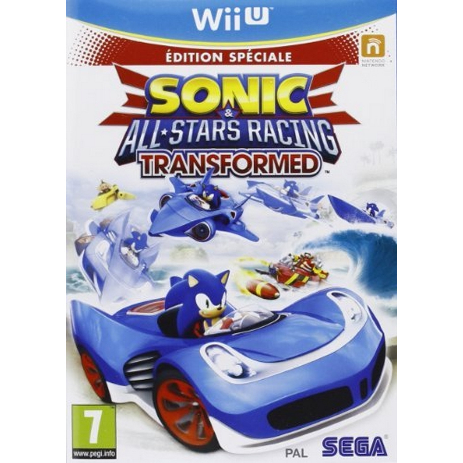Sonic Et All-stars Racing   Transformed - Edition Limitee