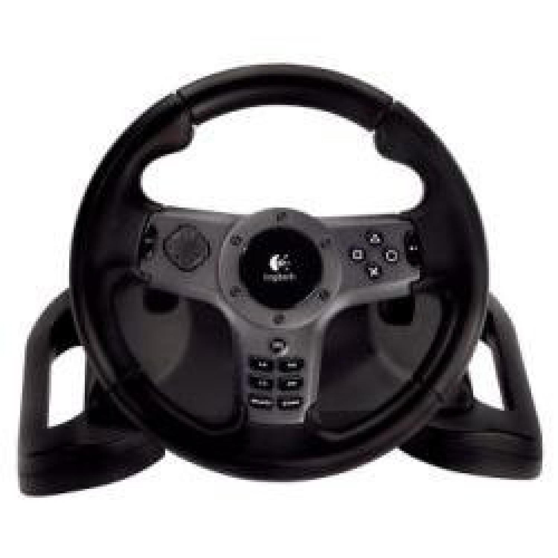 Logitech - Driving Force Wireless - Volant Sans-fil Pour Jeu - Compatible Ps2 / Ps3