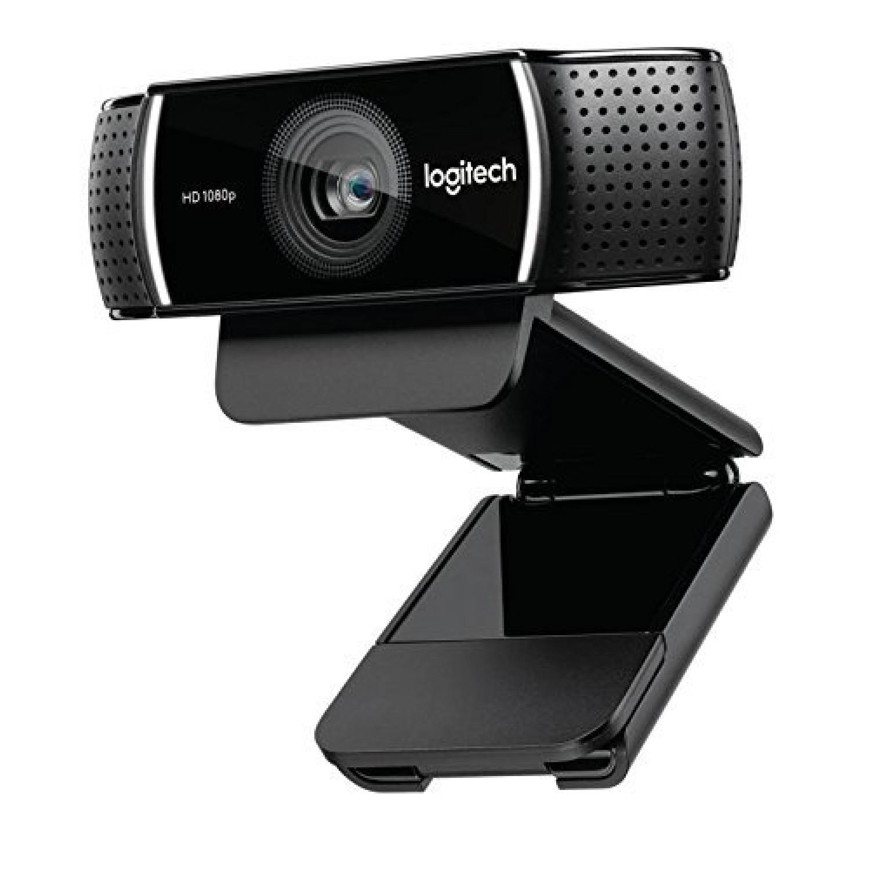 C922 Pro Stream Webcam - 1080p/30fps Ou 720p/60fps Avec Microphone Et Trépied Ajustable, Noir