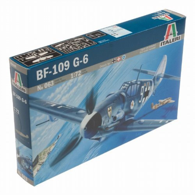 I063 Maquette Aviation Messerschmitt BF109G-6 Echelle 1:72