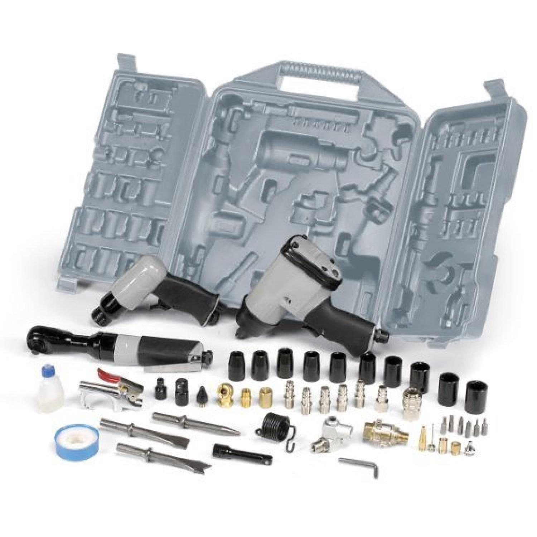 Coffret Outillage Pneumatique 49 Pieces Pour Compresseur