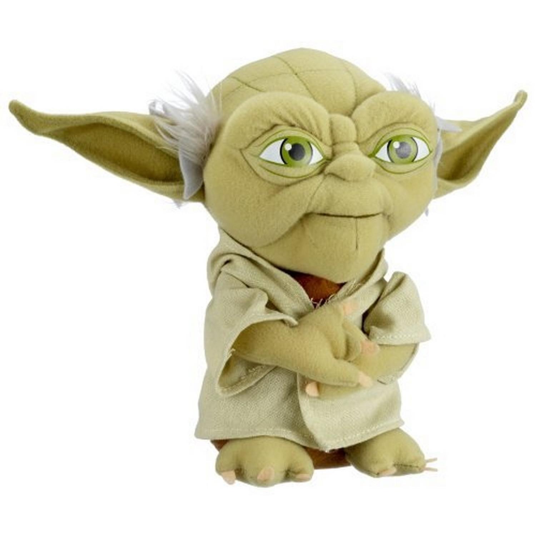 Peluche Maître Yoda 23 cm