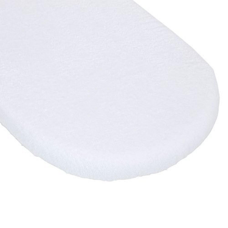 1520801019200 Alèze pour nacelle 80 cm en éponge 100 % coton + tissu plastifié Blanc