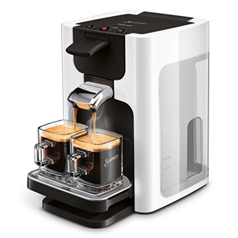 Quadrante  Machine à Café Capsules 1,2 L Cafetière 8 Tasses Argenté Autonome Café En Capsules Argenté Boutons Tasse