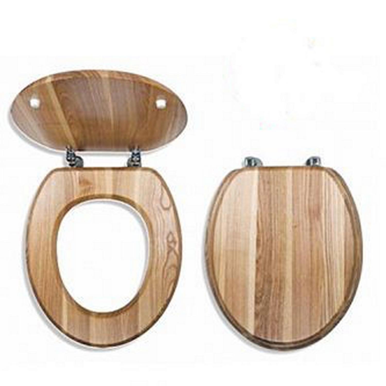 Abattant de toilette WC - En bois massif