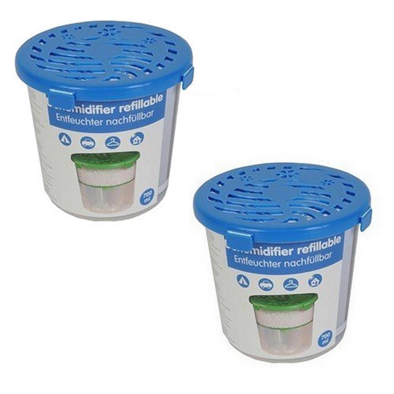 Absorbeur d'humidité - Déshumidificateur 700ml - Par 2