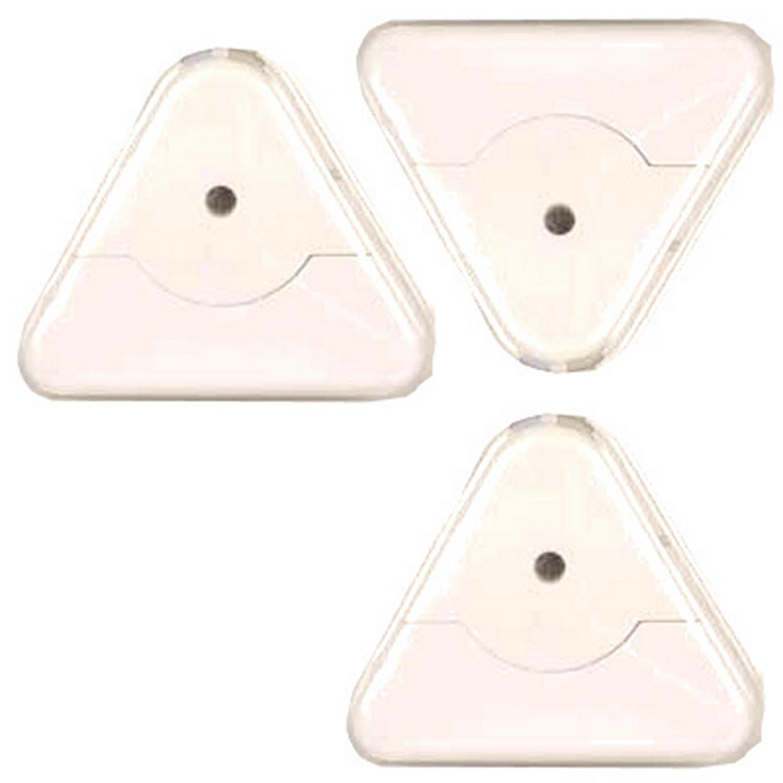 Alarme pour fenêtre - Detecteur bris de glace - 80db - Piles incluses - Lot de 3