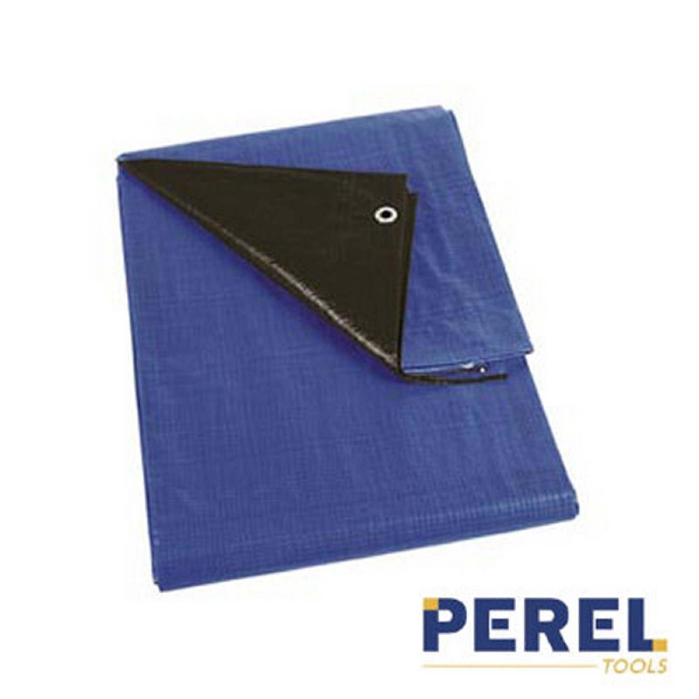 Bâche industrielle - 5X8m - 210g/m² - Bleu noir