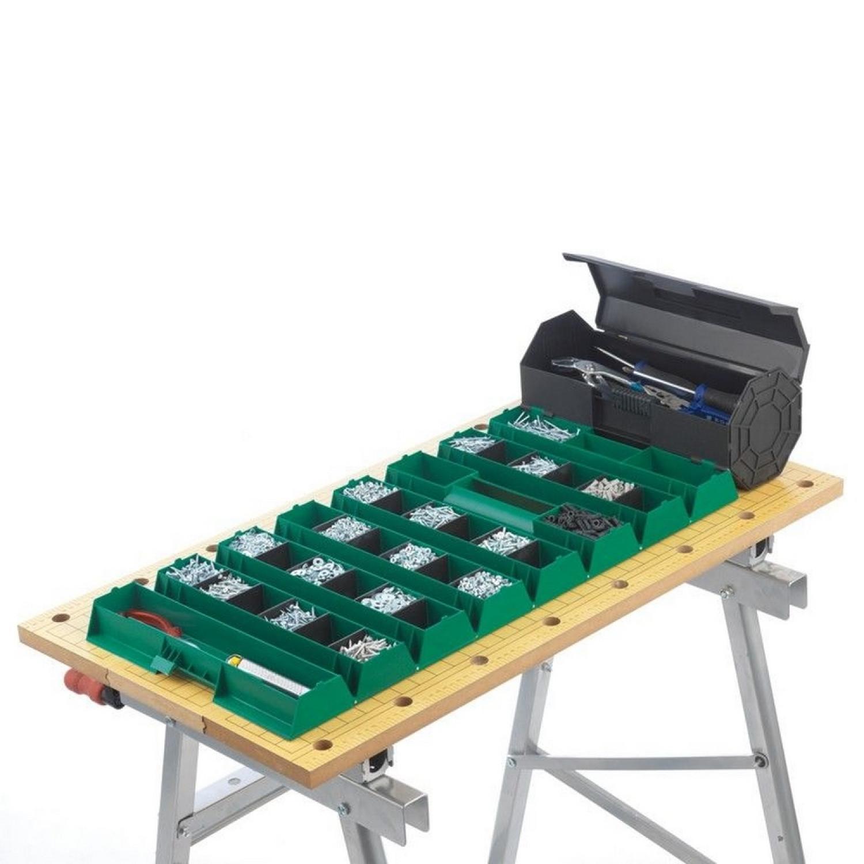 Boite à outils  - déroulante - 35 compartiments