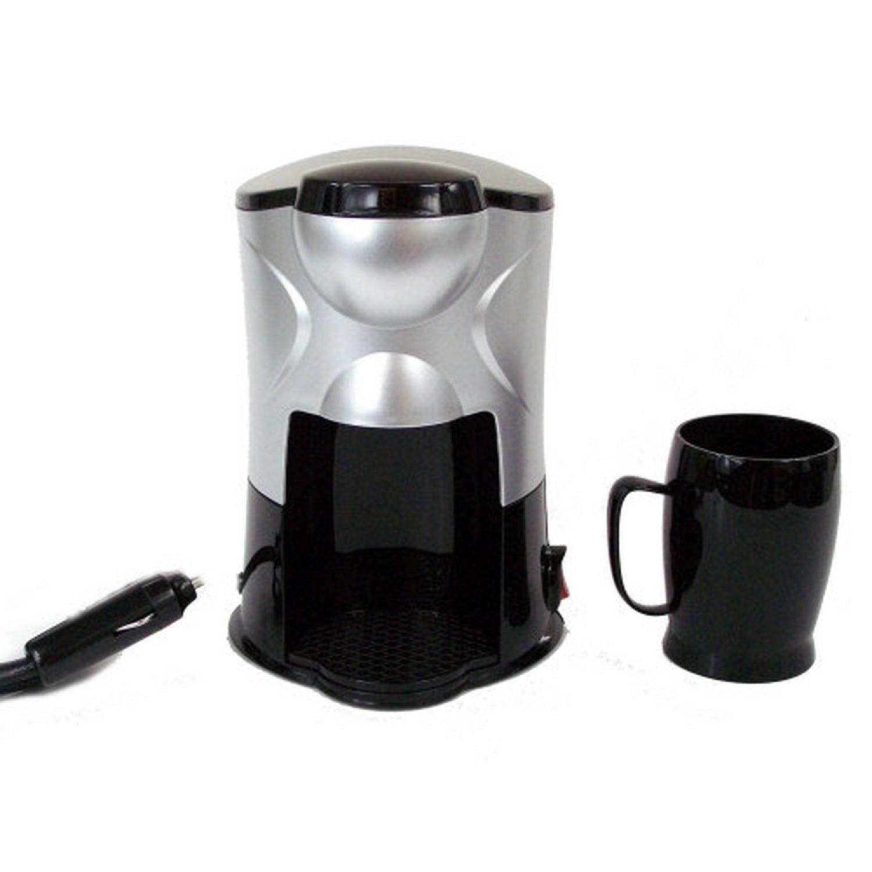 Cafetiere de voyage - Compacte - Avec sa tasse - 12V