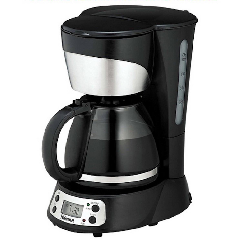 Cafetière programmable - Tristar - 7-8 Tasses - 700W