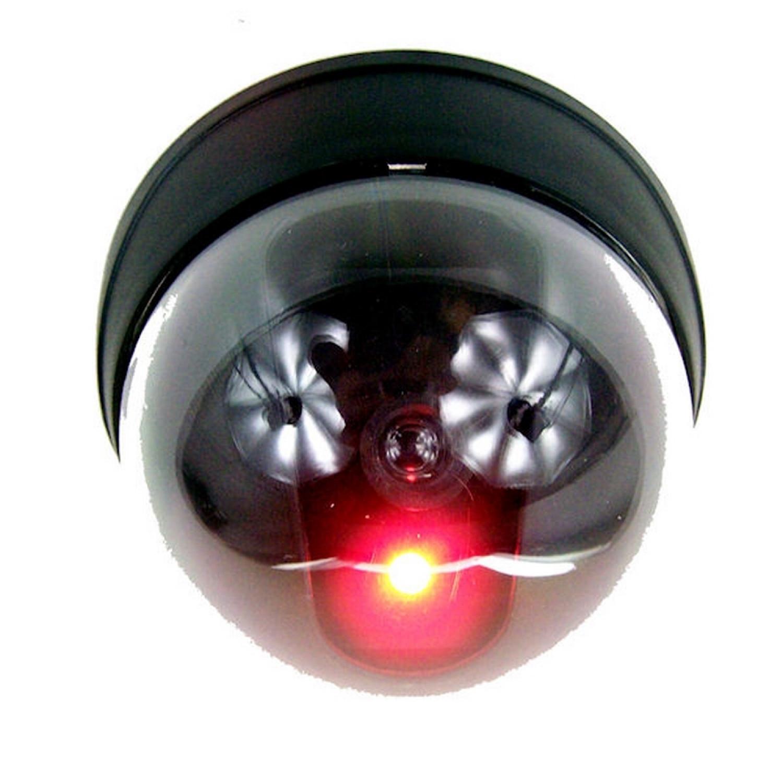 Caméra dome - Factice - Lot de 4 - Intérieur Extérieur - Fixation incluses