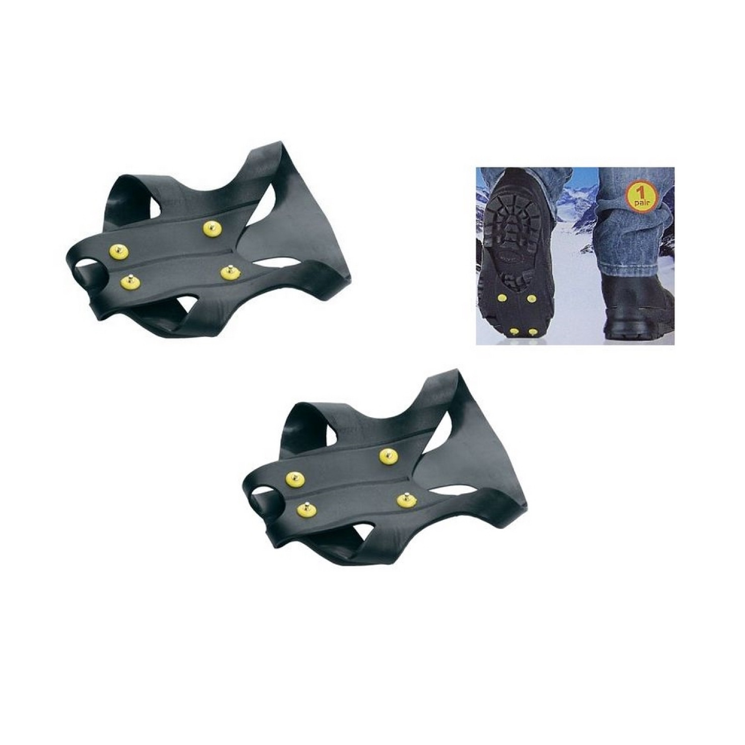 Crampons anti-glisse - Non slip ice treads - Taille 43/48 - ABS