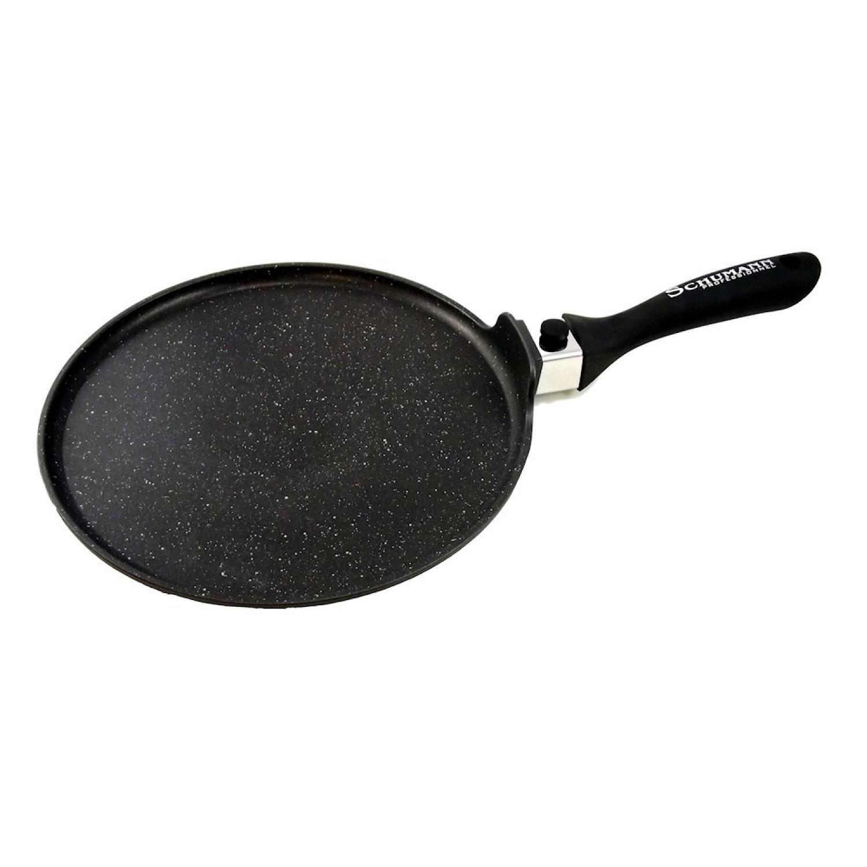 Poêle à crêpe - 28cm - Manche amovible - Moo've - Pierre