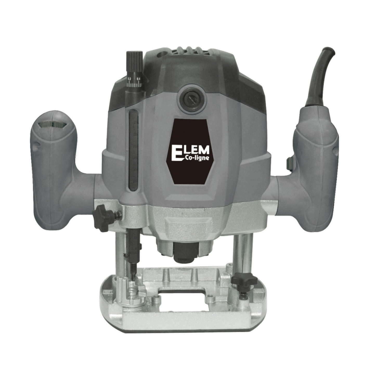 Defonceuse - Elem Eco-Ligne - vitesse variable - 12 fraises - 1050W