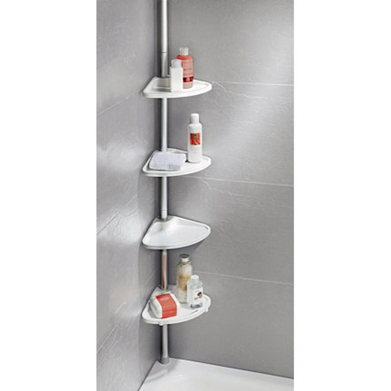 Etagère - Wenko - de douche télescopique - Blanc