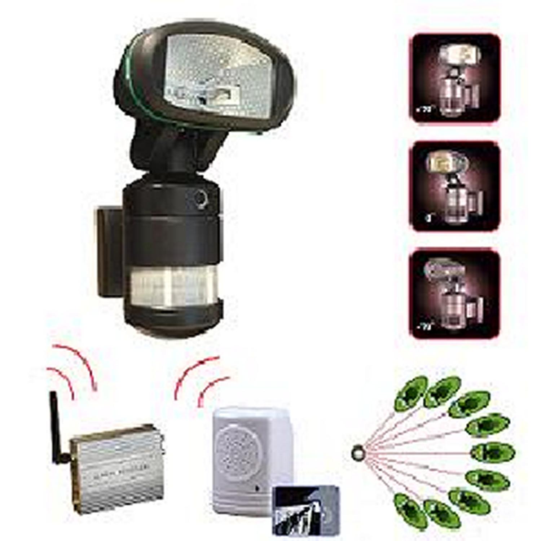 spot halogene 150w detecteur camera alarme. Black Bedroom Furniture Sets. Home Design Ideas