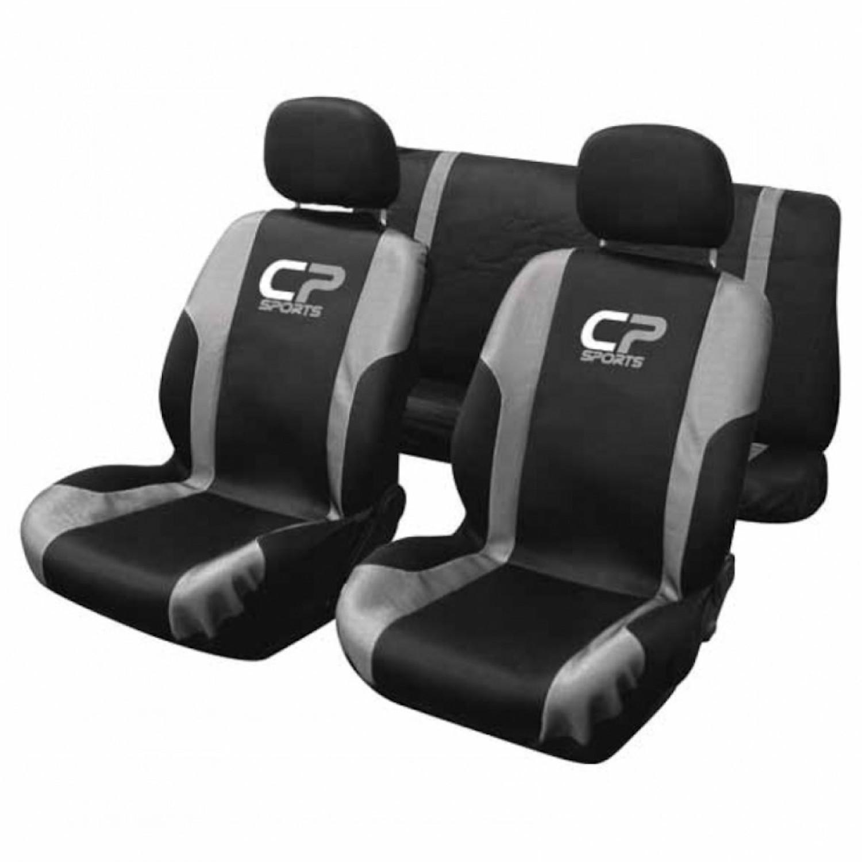 Housse voiture - CP sports - 9 pièces - Noir