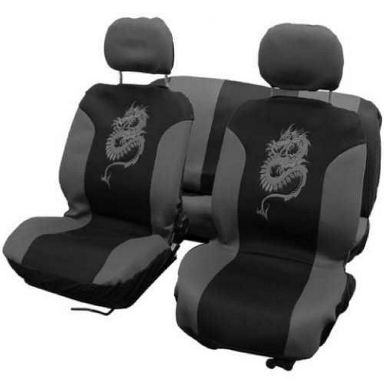 Housses voiture - Couvre sièges auto - 8 pcs - Dragon