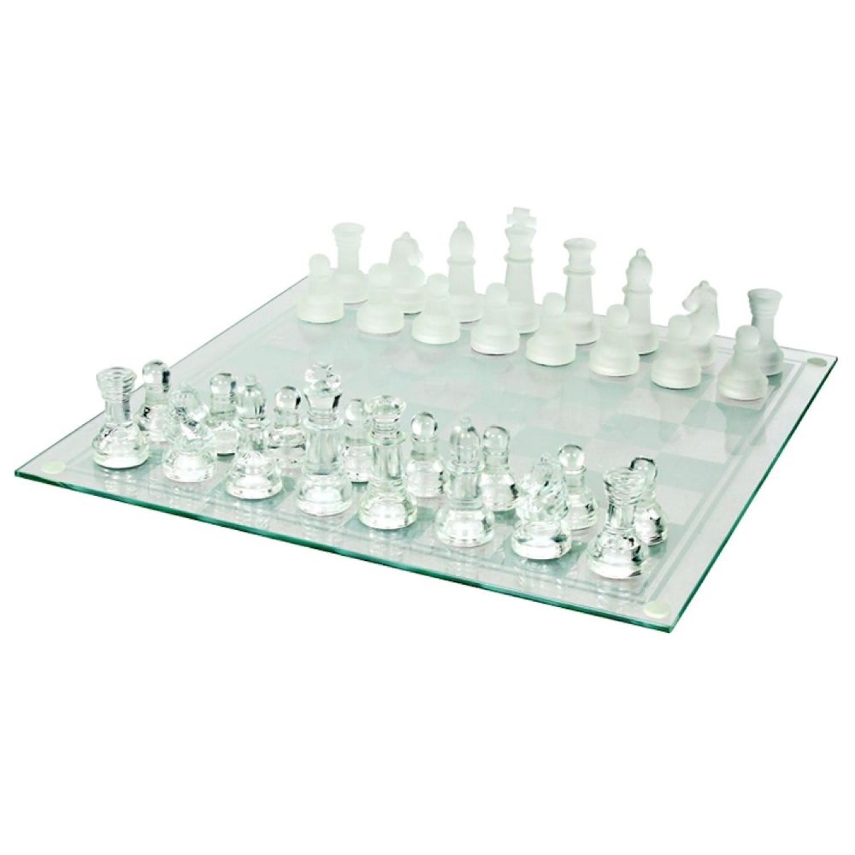 Jeu d'échecs - Décoratif - 32 pièces - Verre