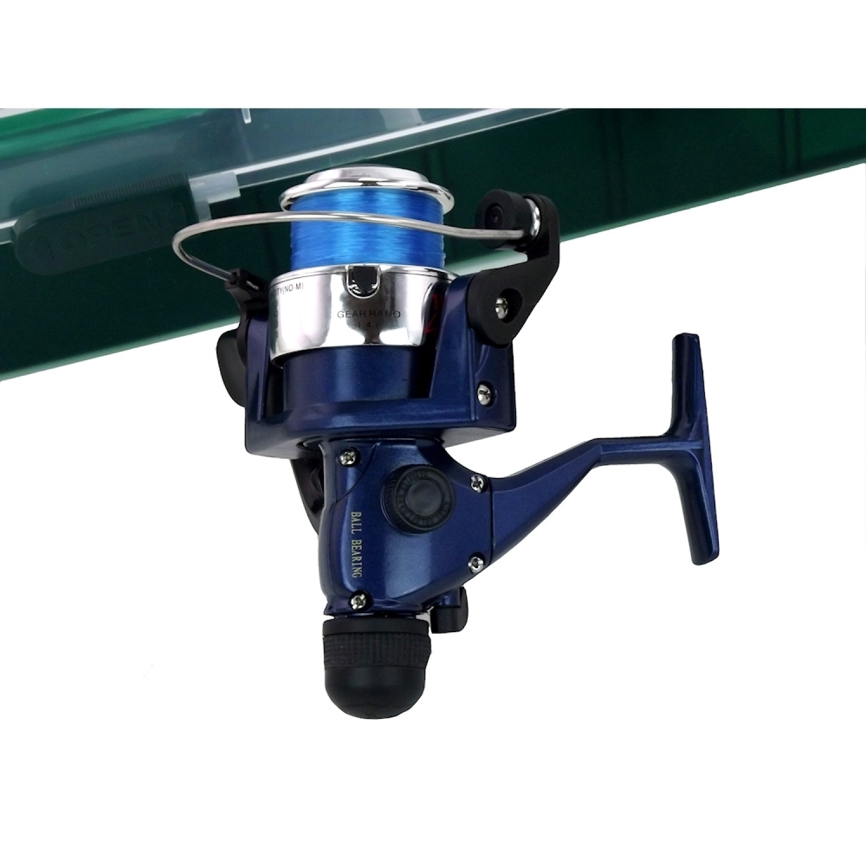 Canne à pêche - A moulinet - Avec accessoires