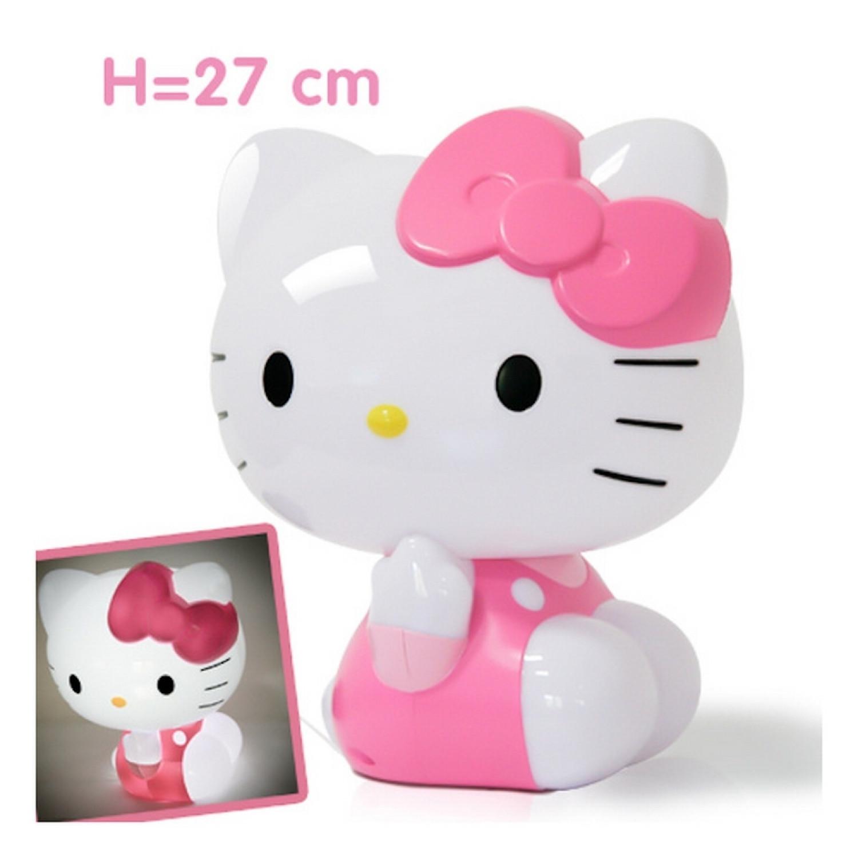 Lampe de chevet - Sanrio - 3D à LED - Hello Kitty - 230V