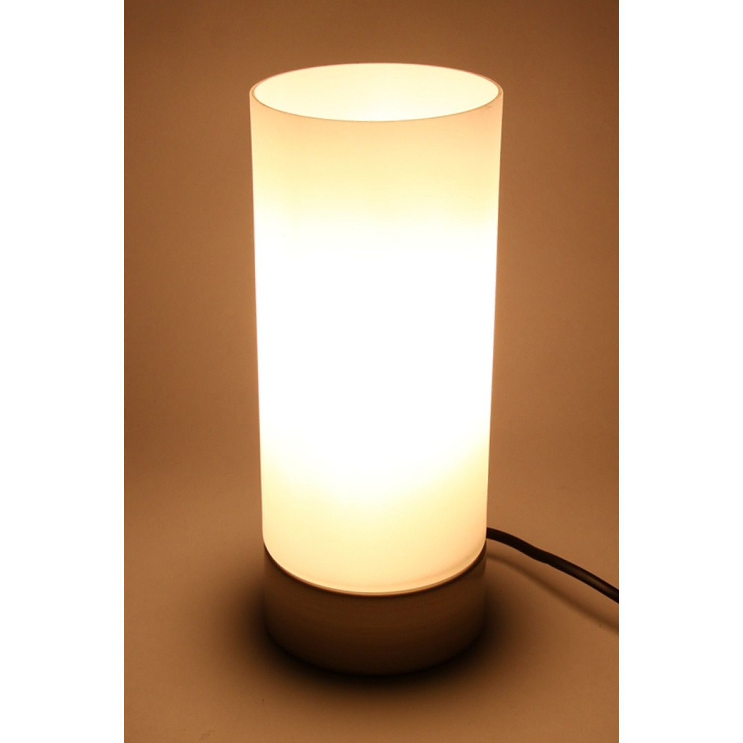 Lampe touch  - Cylindrique - Verre