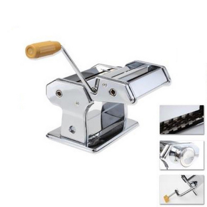 Machine à Pate - Lasagne Tagliatelle et Spaghetti - A manivelle - Inox