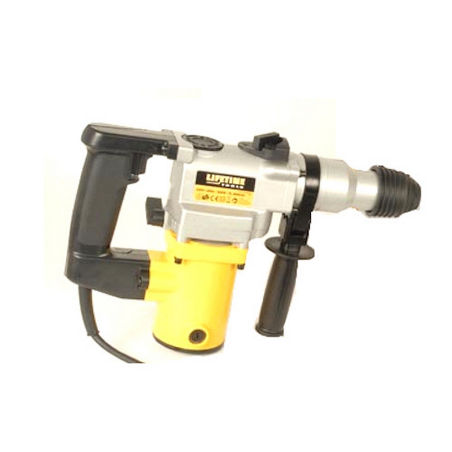 Marteau perforateur burineur - Lifetime tools - 850W - Jaune