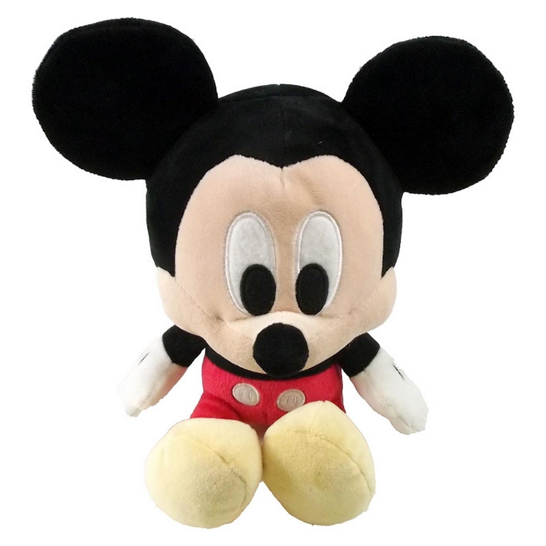 Peluche Mickey - Disney - Peluche de 25cm - Grosse Tête