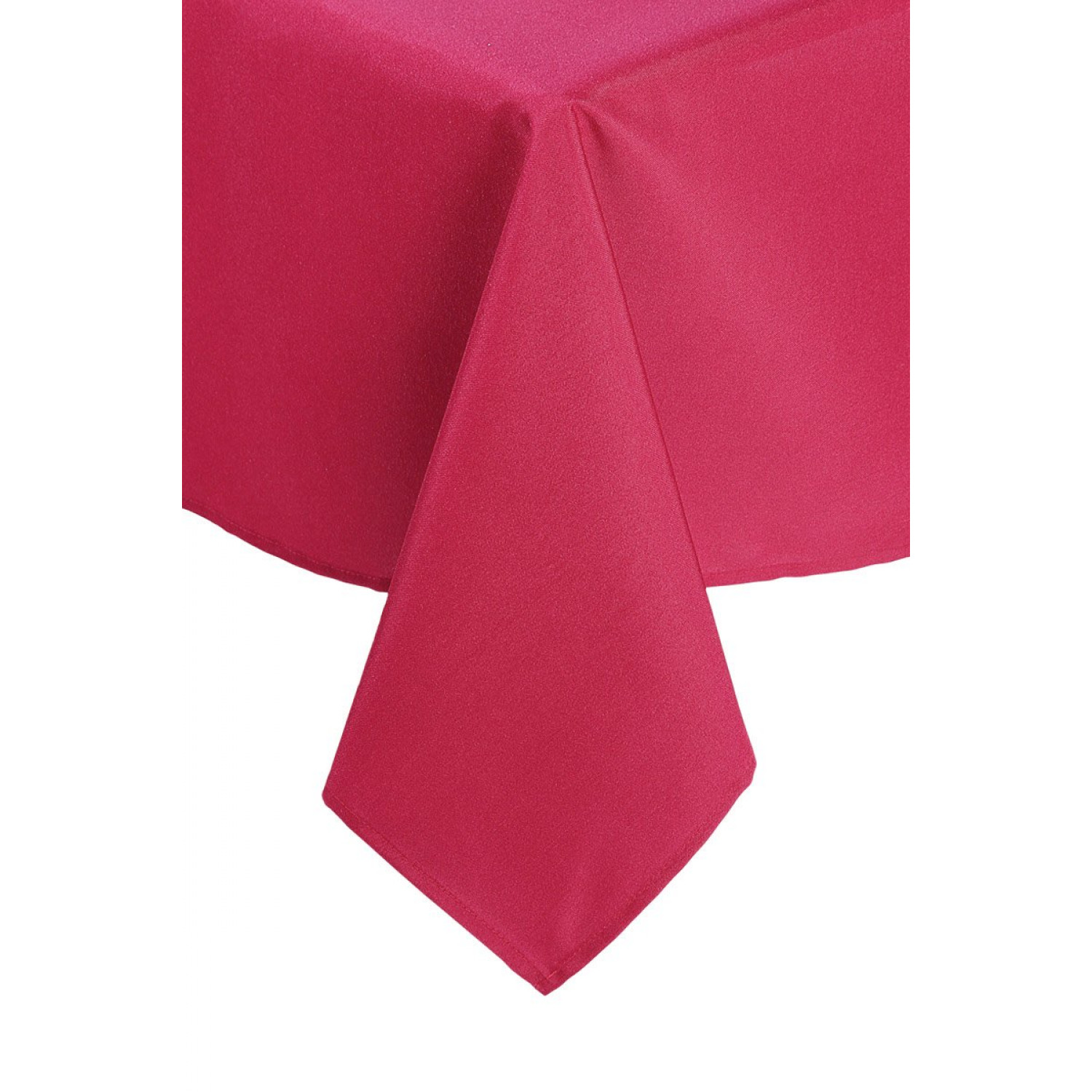 Nappe rectangulaire - Anti tâches- 140x240cm - Framboise - Polyester