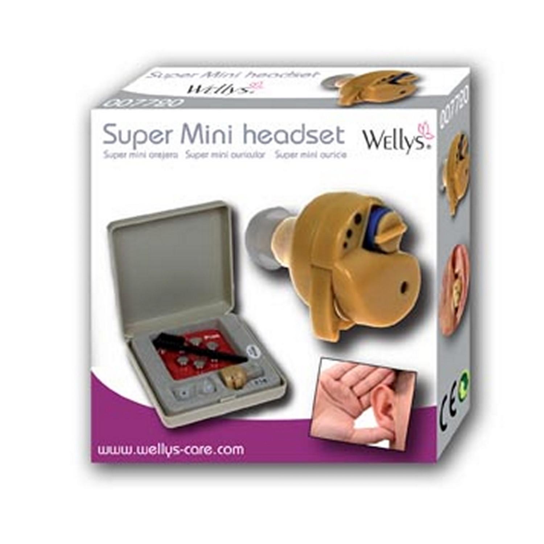 Super oreillette mini - Pour confort auditif - Beige