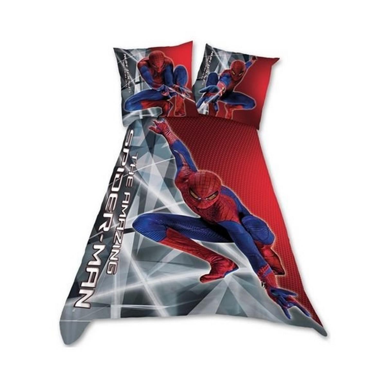 Parure Housse de couette - Spiderman - 1 personne - 100% Coton
