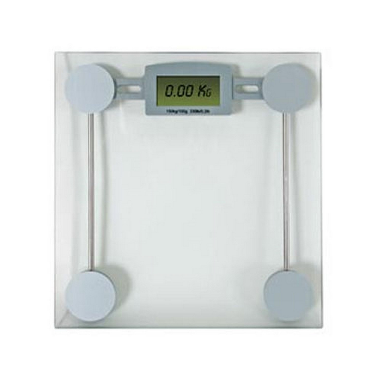 Pèse personne numérique - Plateau en verre - Max 150kg