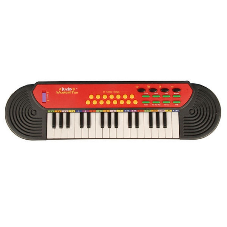 Clavier électronique 32 touches - Synthétiseur guitare piano - 15 chansons démo