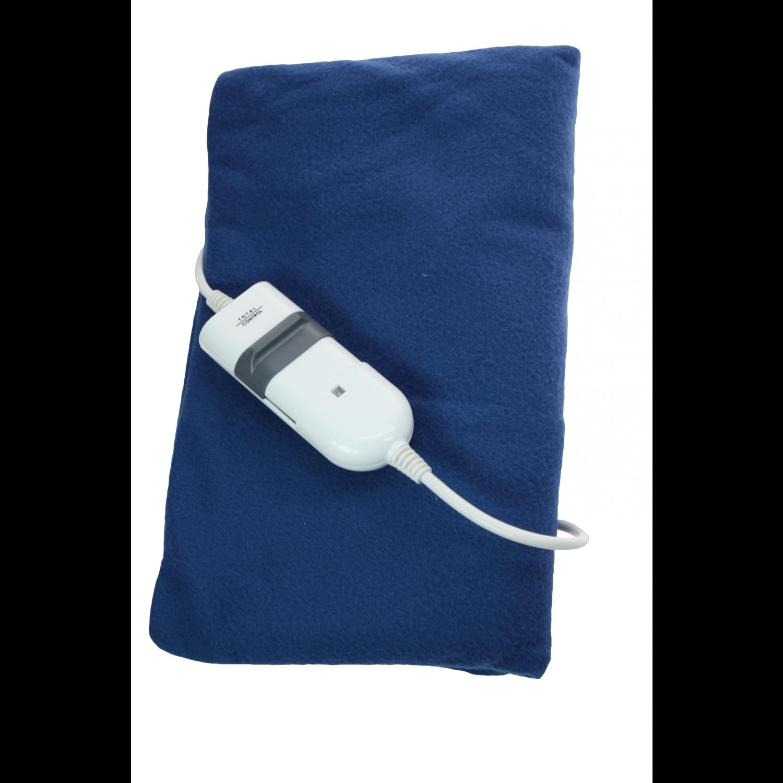 Plaid - chauffant - 31x10cm - Bleu