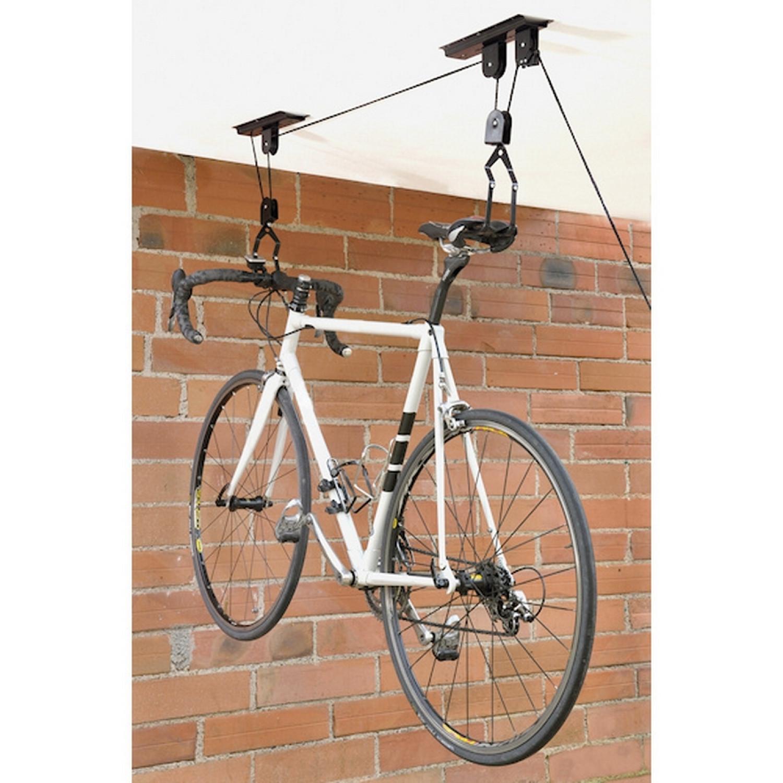 Support Vélo - A suspension - Range vélo - Résistance 20 kg
