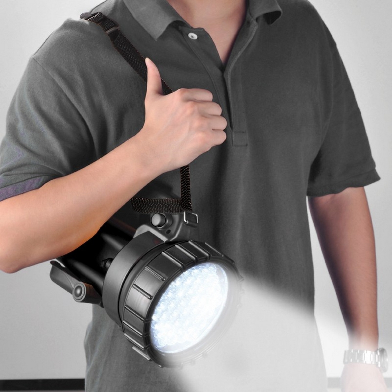 Lampe torche - Projecteur multifonctions - LED - 6V