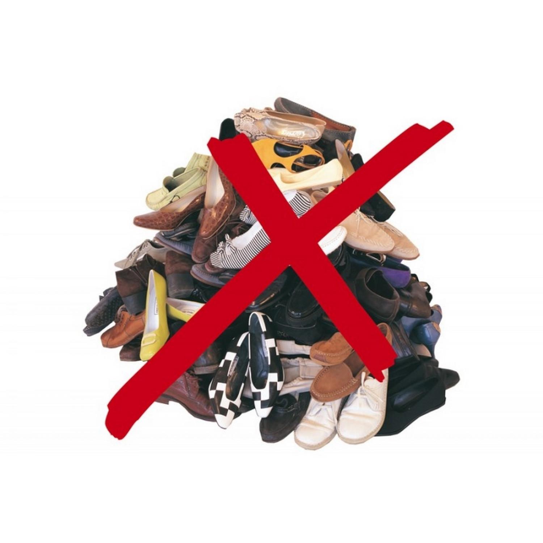 Etagère à chaussures -  A suspendre - Pour 24 paires