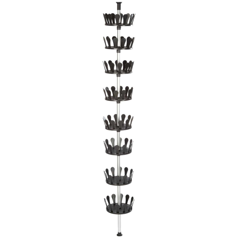 Rangement - Porte chaussures - Pour 48 paires - Aluminium
