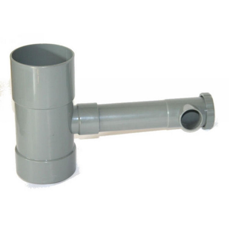 Récupérateur d'eau de pluie - Robinet débit réglable - PVC