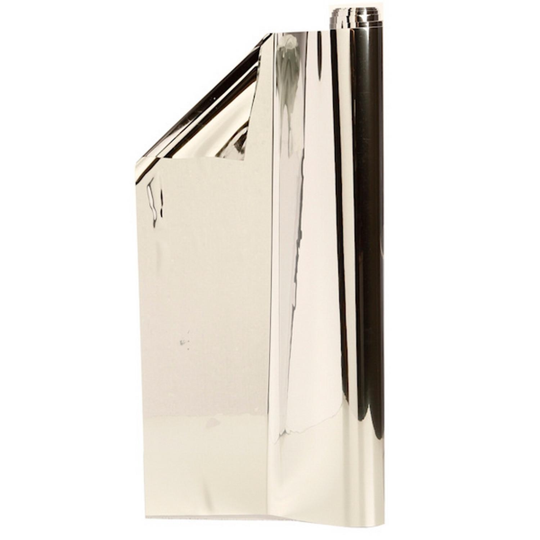 Rouleau Sticker Miroir - Adhésif - A Découper - 100x45cm