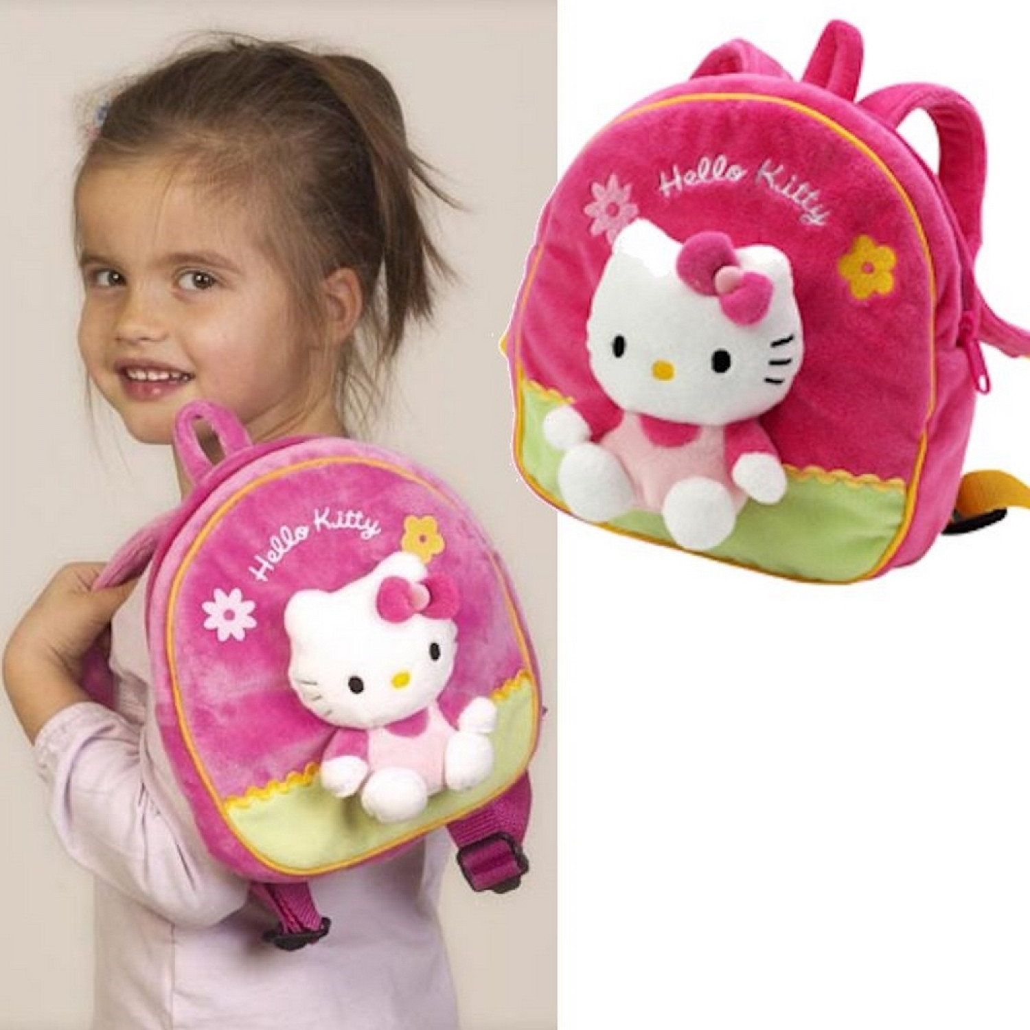 Sac à dos - Hello Kitty - Rose