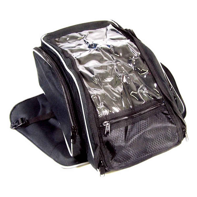 Sacoche Réservoir - Moto - Magnétique - Noir - 21 Litres