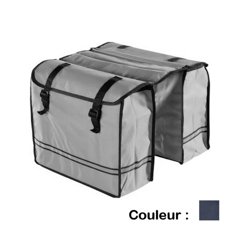 Sacoche vélo - Bicycle Gear - Porte bagage 30L - Bleu marine