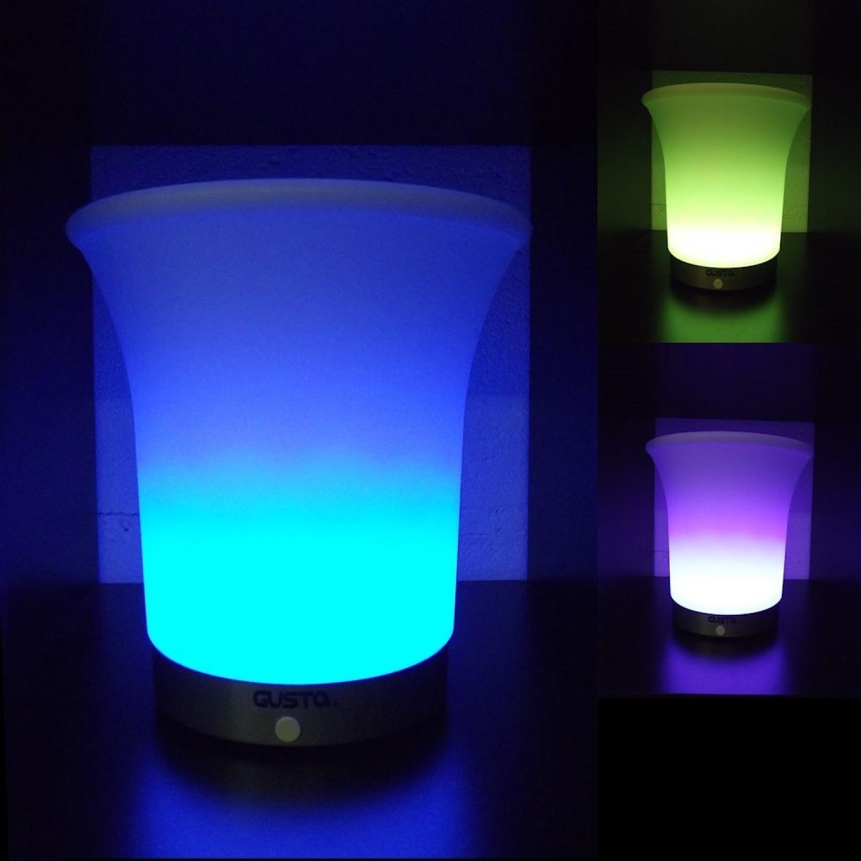 Seau à Champagne - LED - Variation de couleurs