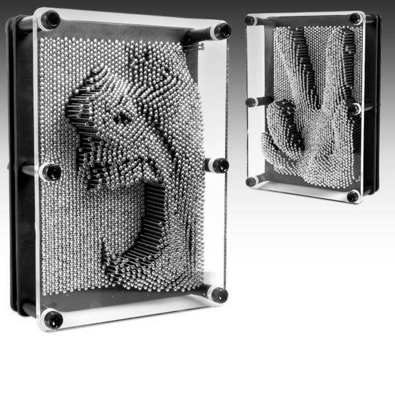 Cadre à clous - Sculpture 3D